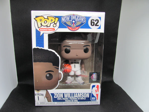 Zion Williamson 62 Funko POP! NBA New Orleans Pelicans Basketball