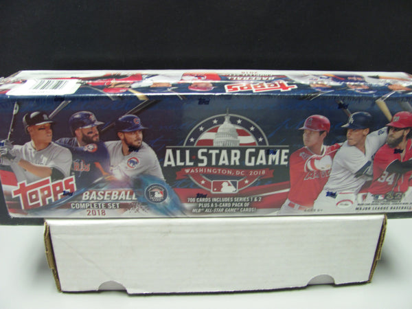 2018 Topps Baseball All-Star Game Factory Sealed Complete Set