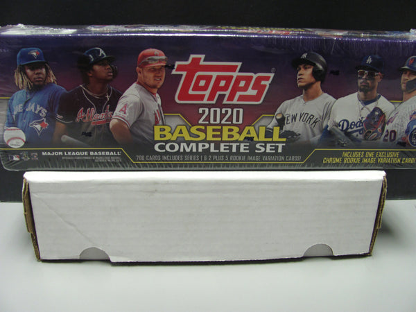 2020 Topps MLB Baseball Complete Factory Sealed - TARGET Purple Set+CHROME RC