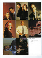 1996 Topps The X-Files Season 3 Trading Card Set (72) Nm/Mt