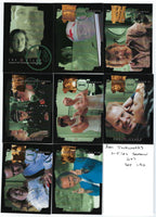 X-Files Seasons 6 & 7 2001 Ink Works Complete Base Card Set of 90