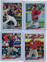 2018 Topps Update Complete Set 1 - 300 Soto Ohtani Acuna Torres RC Trout Judge