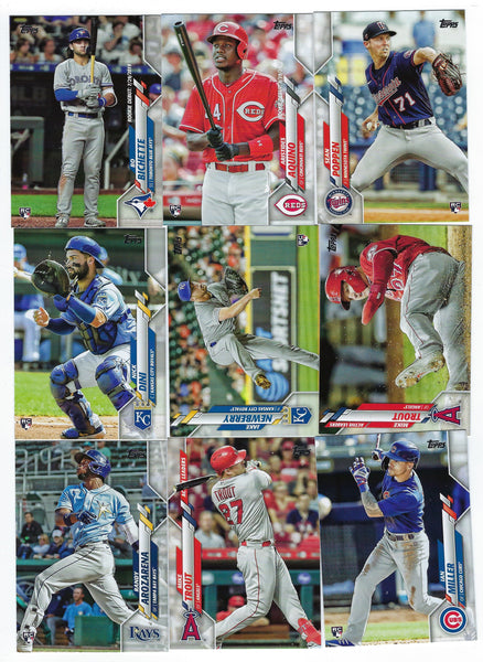 2020 Topps Update Complete Baseball Card Set #U1-300 Randy Arozarena