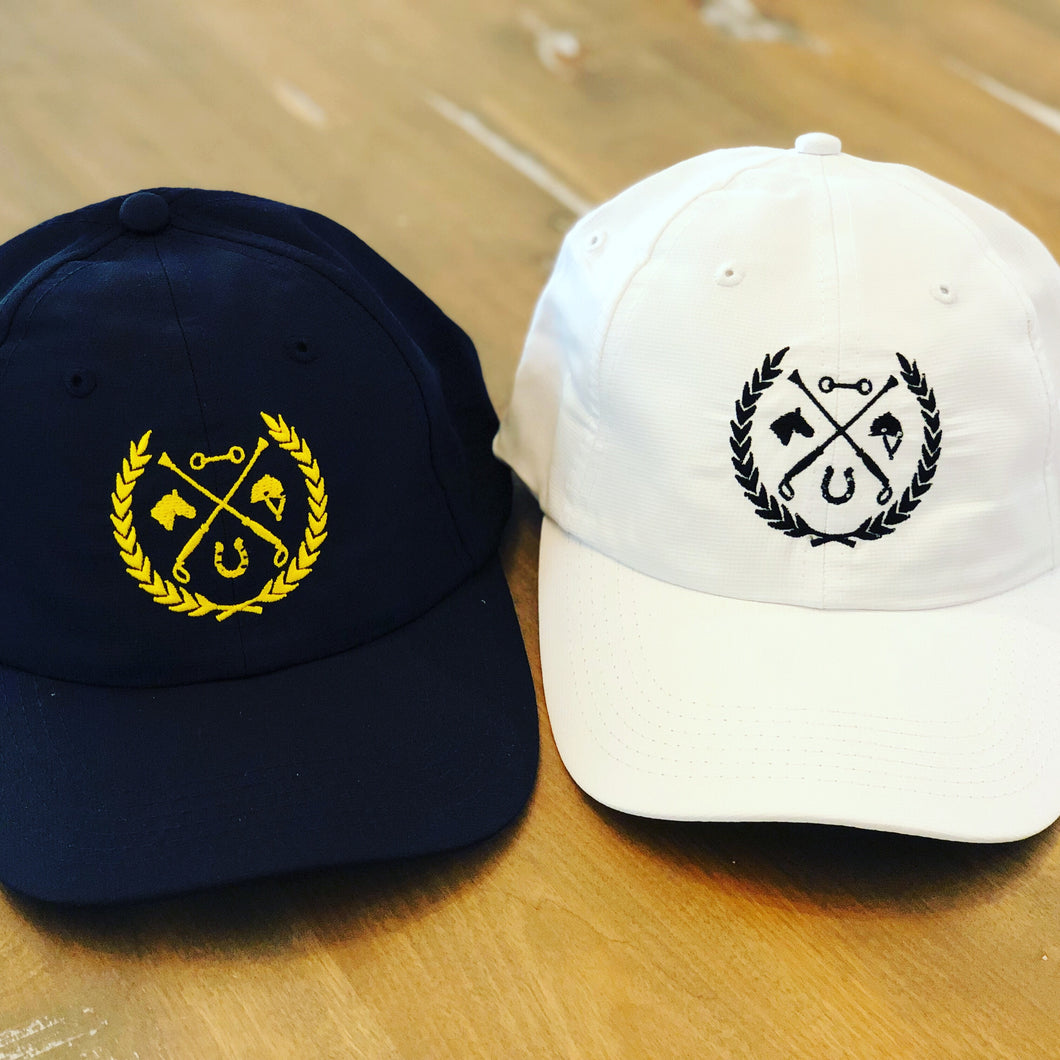 Livy Rose 'Equestrian Crest' Embroidered Hat