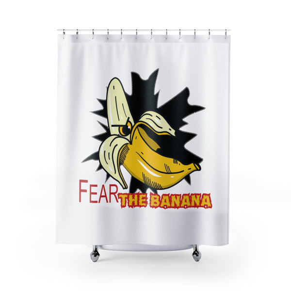 Fear the Banana Shower Curtains