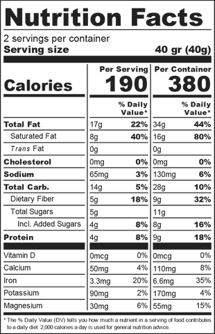 Apricot and Almond Nutrition Facts