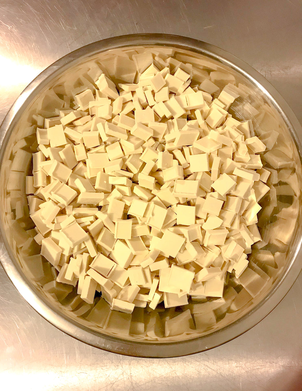 Vegan White Chocolate Chunks