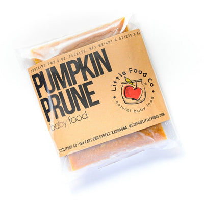 Little Food Co Pumpkin Prune Purée organic baby food puree