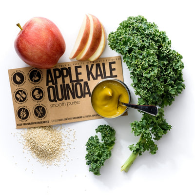 Little Food Co Apple Kale Quinoa Purée organic baby food puree