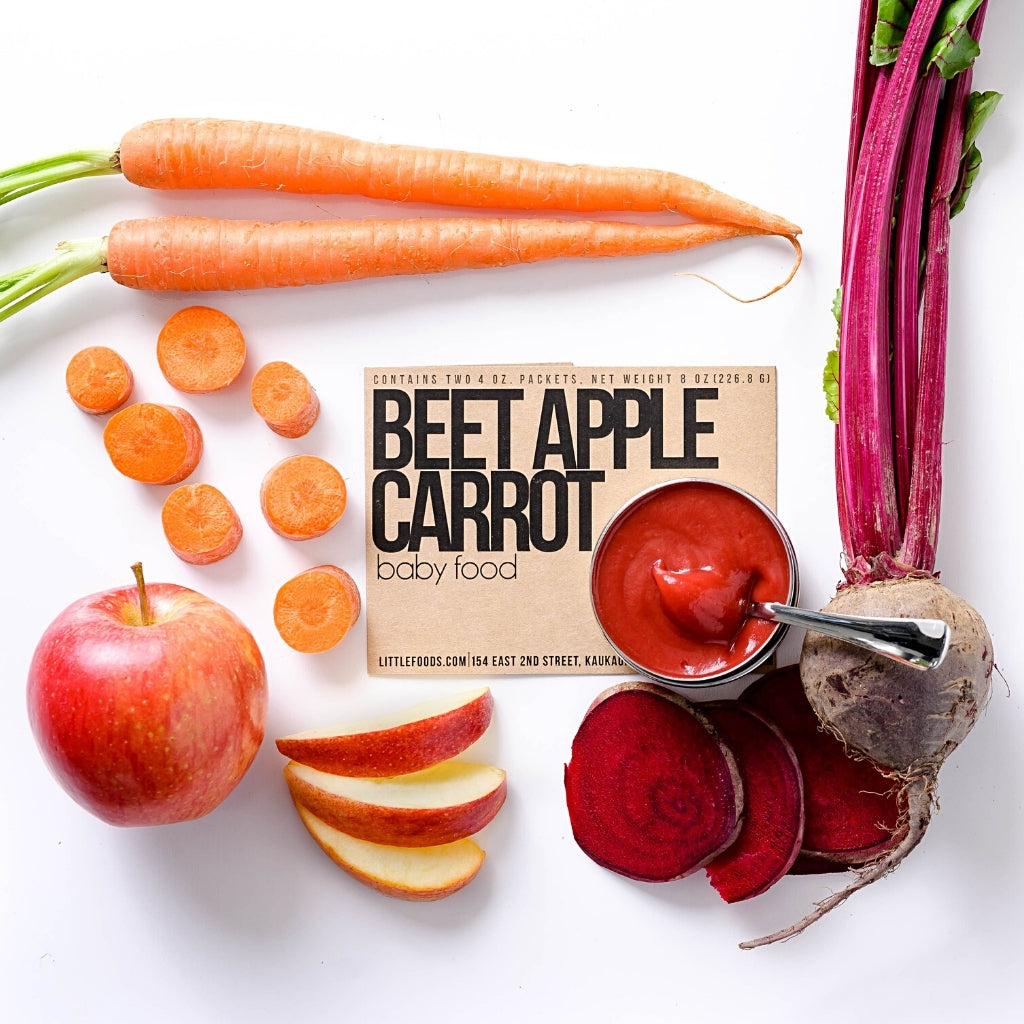 Little Food Co Beet Apple Carrot Purée organic baby food puree