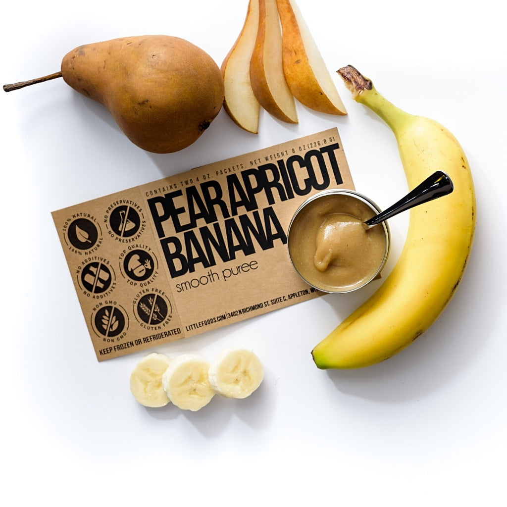 Little Food Co Pear Apricot Banana Purée organic baby food puree