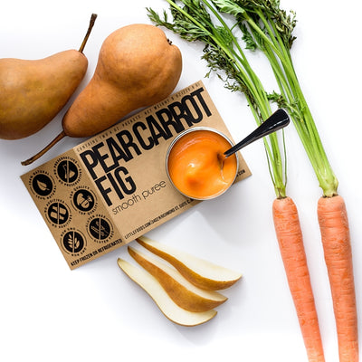 Little Food Co Carrot Pear Fig Purée organic baby food puree