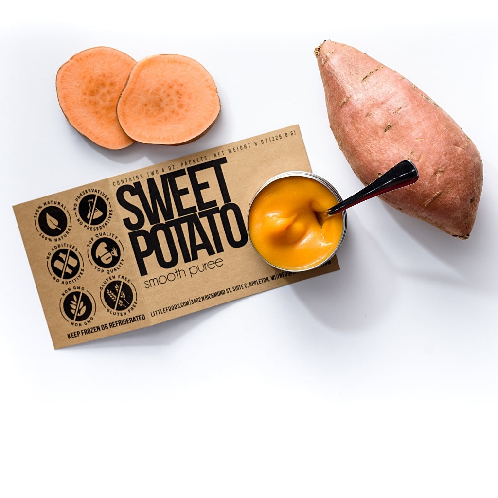 Little Food Co Sweet Potato Purée organic baby food puree