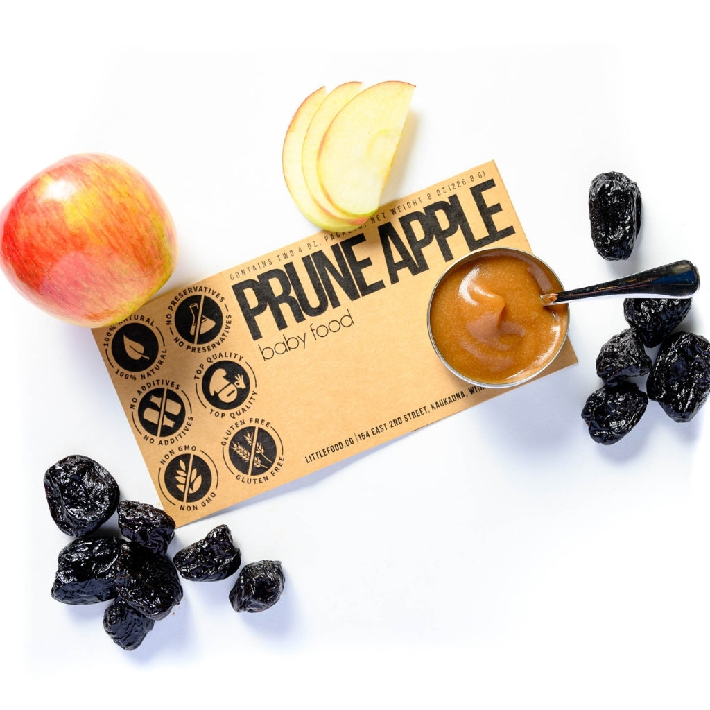 Little Food Co Prune Apple Purée organic baby food puree