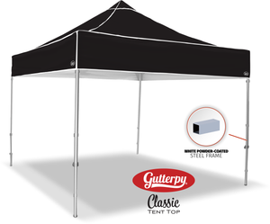 Solid Black - Pop Up Tent and Frame