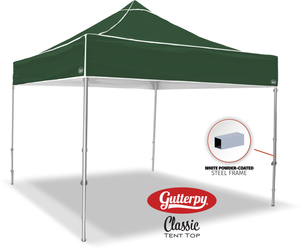 Solid Green - Ready Made Pop Up Tent Top