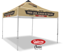 Load image into Gallery viewer, Custom Made Gutterpy Tent Top