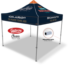 Load image into Gallery viewer, Happy Birthday - Ready Made Pop Up Tent Top
