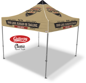 Custom Made Gutterpy Tent Top