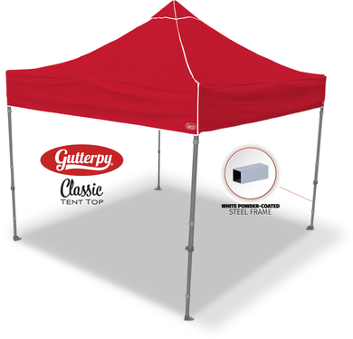 Solid Red - Pop Up Tent and Frame