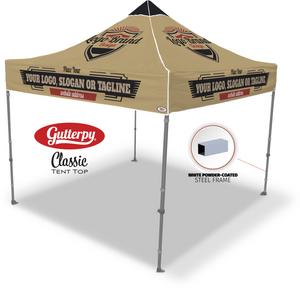 Custom Gutterpy - Pop Up Tent and Frame