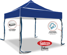 Load image into Gallery viewer, Solid Blue - Ready Made Pop Up Tent Top