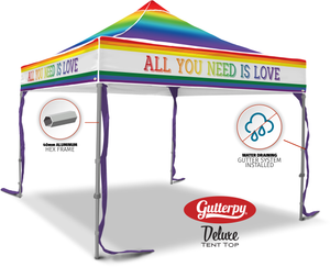 All You Need Is Love - Ready Made Pop Up Tent Top