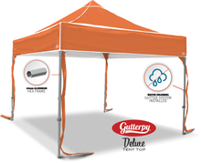 Load image into Gallery viewer, Solid Orange - Pop Up Tent and Frame