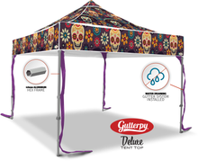 Load image into Gallery viewer, Los Muertos - Ready Made Pop Up Tent Top