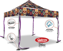 Load image into Gallery viewer, Los Muertos - Pop Up Tent and Frame