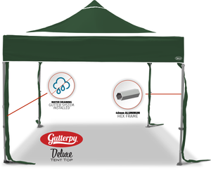 Solid Green - Pop Up Tent and Frame