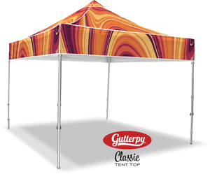 Fall Swirl - Ready Made Pop Up Tent Top