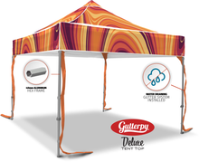 Load image into Gallery viewer, Fall Swirl - Ready Made Pop Up Tent Top