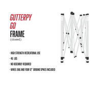 Load image into Gallery viewer, Recreational Grade Gutterpy Go Frame & Roller Bag