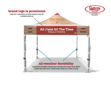 Load image into Gallery viewer, Halal Delivery Deluxe Tent Top + Industrial Grade Transport Bag