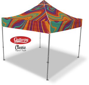 Lava Flow - Ready Made Pop Up Tent Top