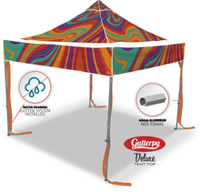Load image into Gallery viewer, Lava Flow - Ready Made Pop Up Tent Top