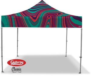 Purple Mist - Ready Made Pop Up Tent Top