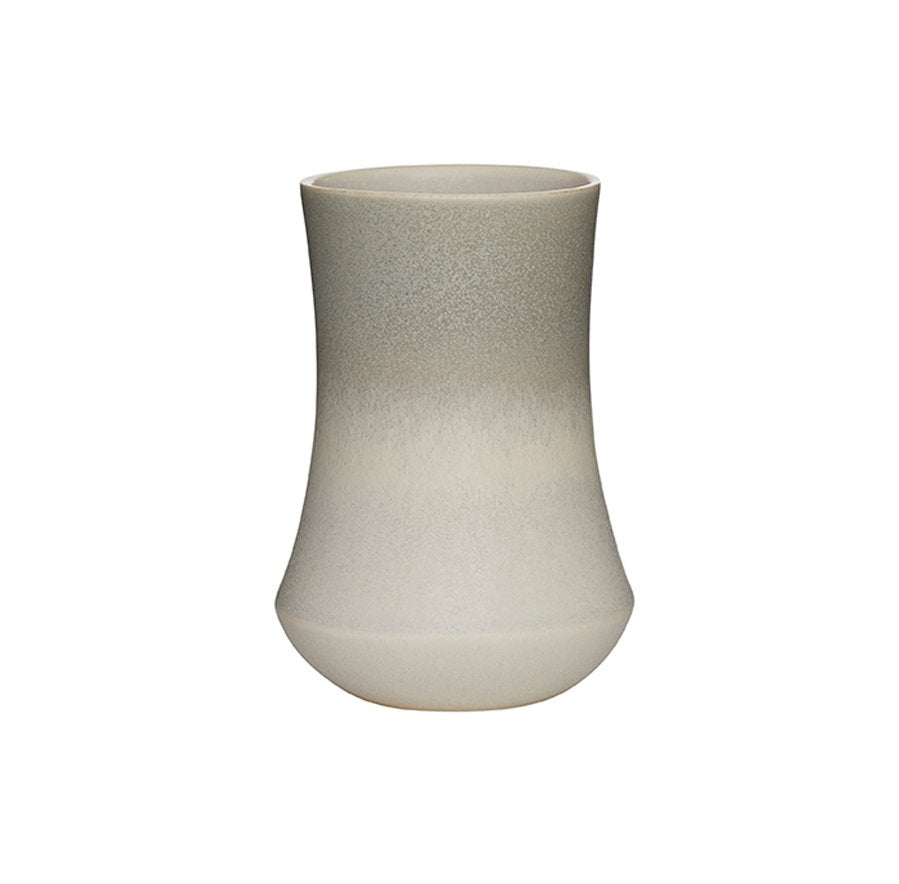 Skala Vase - Medium - Pearl White/stone