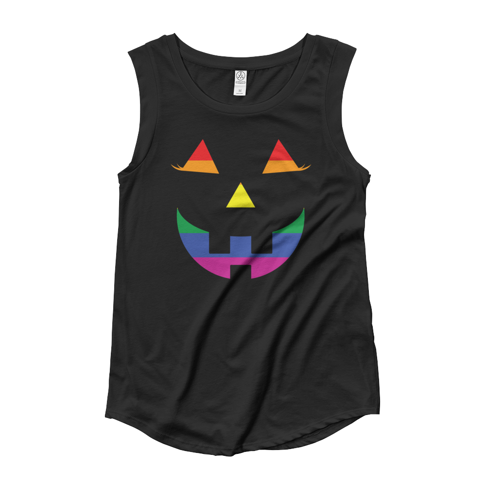 c30912605b4 Pumpkin Pride Tank Top for Women   TeeBae Shop for a variety of Tank Tops  for