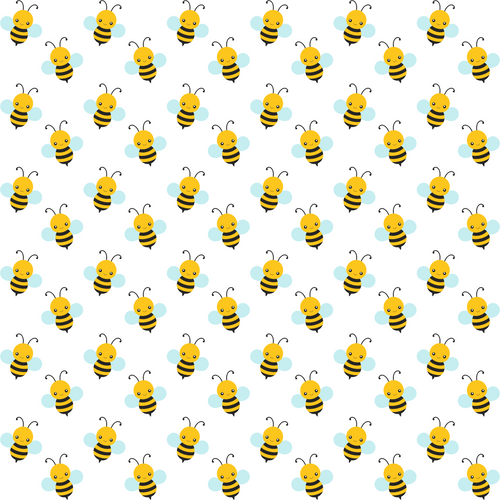 Bees 8x13