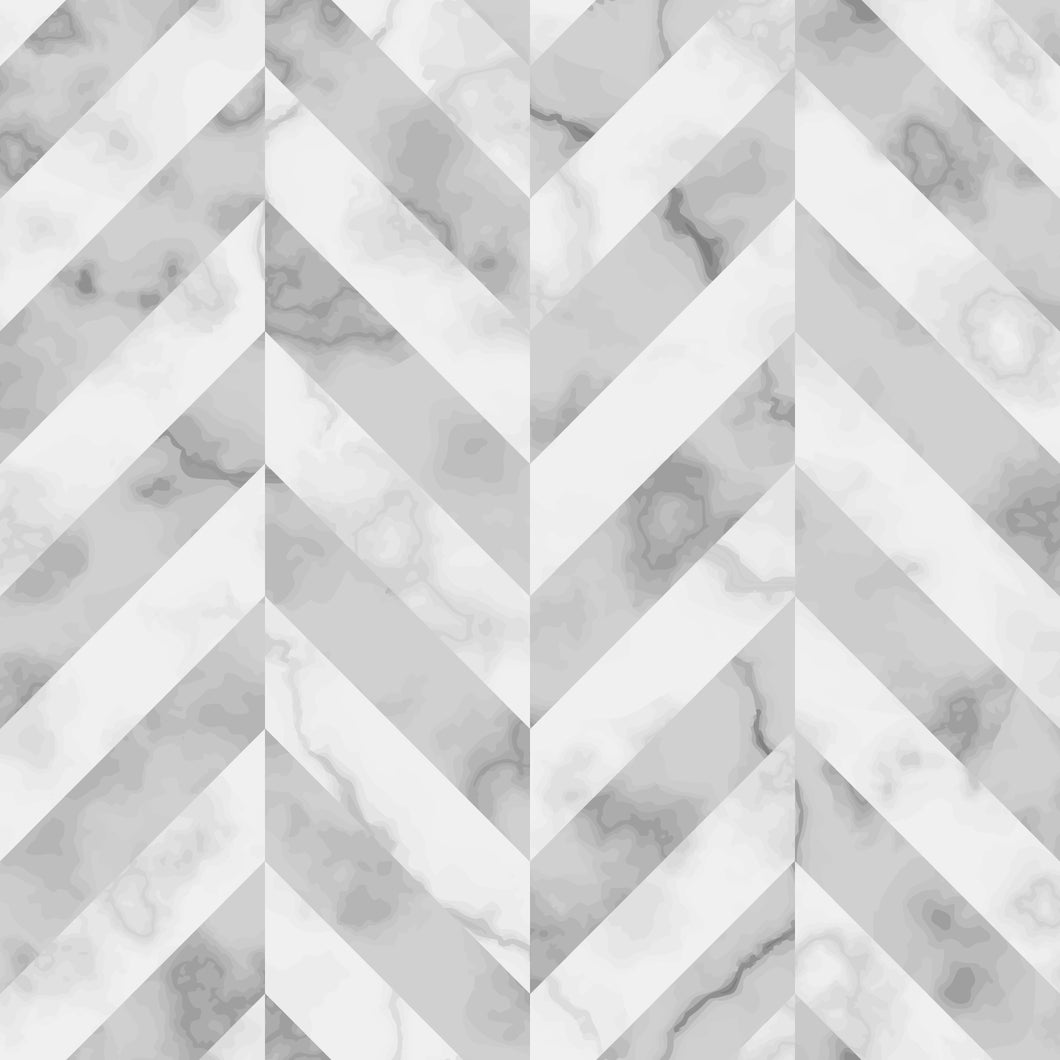 Marble Tiles of Grey & White