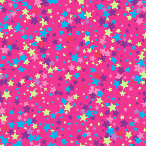 Pink stars SMALL PRINT Faux leather 8x13