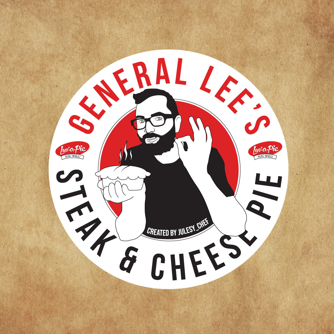 General Lee's Steak & Cheese Pie - 6 pack