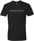 Black Synthesizers.com T-Shirt