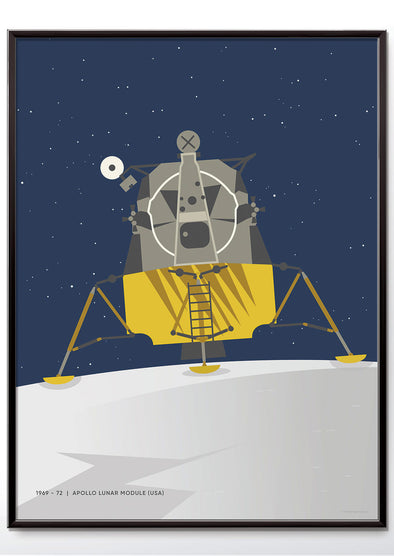 Moon landing NASA Apollo Space Poster - wyatt9.com