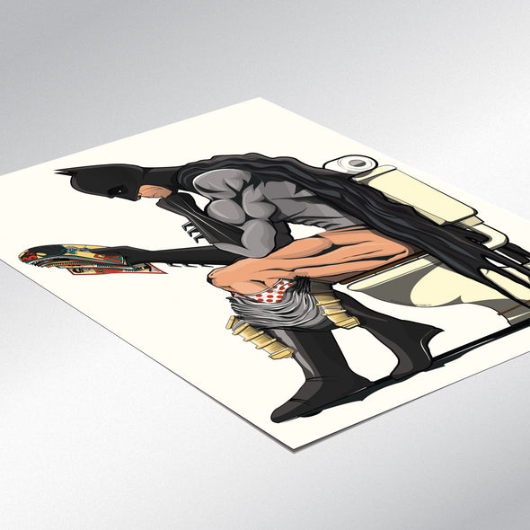 Batman & Catwoman Bathroom Poster Set