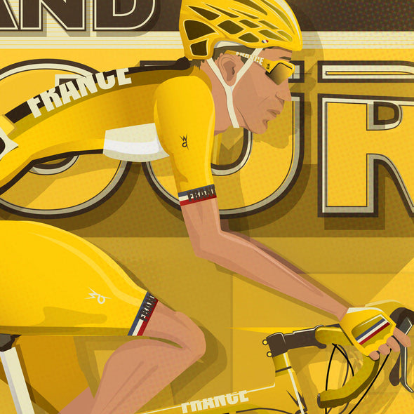 Tour De France Bicycle Poster
