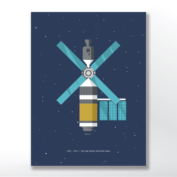 Skylab NASA Space Station Poster - wyatt9.com