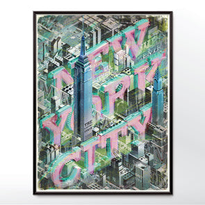 New York City Poster Print